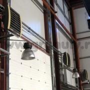 Тепловая завеса Волкано в ТехЦентре